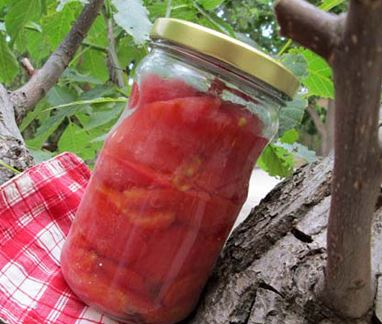 درست کردن کنسرو گوجه فرنگی