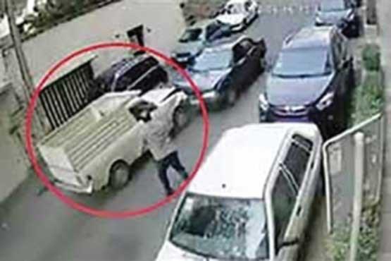 2 ماه پاکبانی مجازات راننده جنجالی
