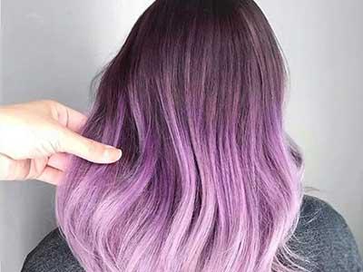 ۱۰ ایده ی خلاقانه برای استفاده از رنگ موی پاستلی