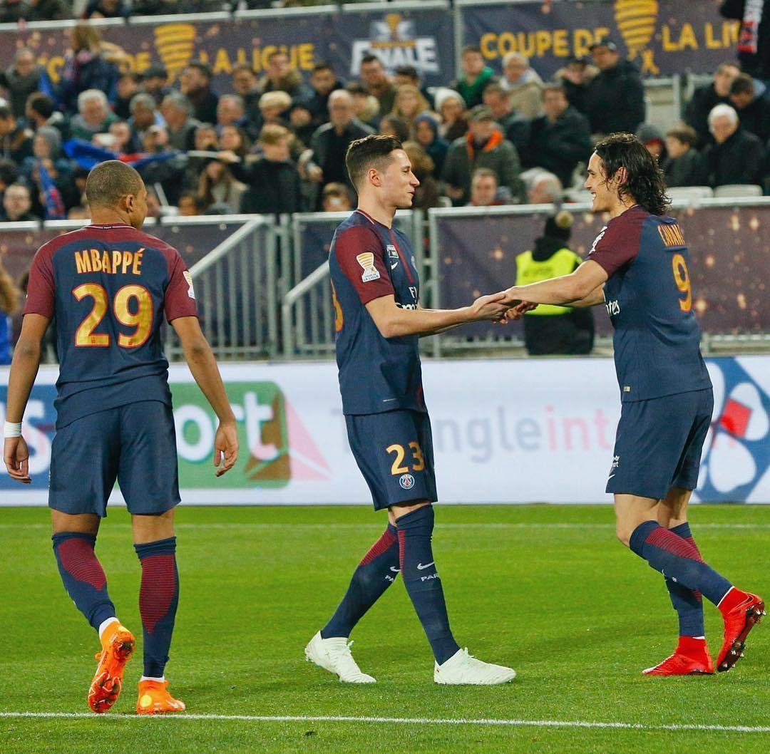 پاریسنژرمن با شکست موناکو قهرمان جام اتحادیه فرانسه شد