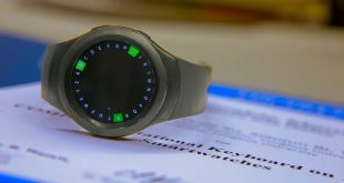 طراحی یک کیبورد گِرد برای ساعتهای هوشمند+عکس