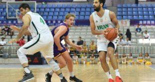 پیروزی تیم ملی بسکتبال ایران مقابل نماینده آمریکا
