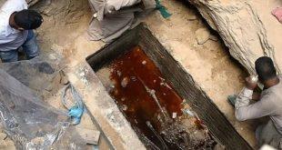 درخواست جنجالی کاربران اینترنت برای نوشیدن آب استخوان مقبره باستانی مصر