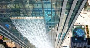 آبشار مصنوعی 108 متری در چین (+تصاویر)