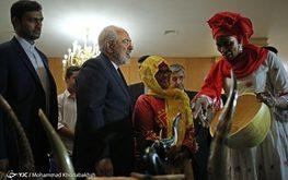 پوشش جالب مهمانان آفریقایی در دیدار با ظریف (+تصاویر)