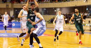 صعود تیم ملی بسکتبال ایران به مرحله دوم