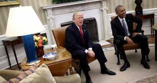 ترامپ: اوباما بابت مداخله انتخاباتی روسیه کاری نکرد