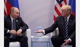 ترامپ: پوتین دنبال حفظ برجام است/ از وقتی برجام را لغو کردهام، سرتاسر ایران درگیر تظاهرات و شورش است