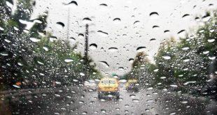 بارش باران و وزش باد در برخی از استانها