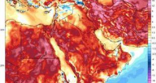 موج جدید گرما در راه کشور/ دما در برخی نقاط به بالای ۵۰ درجه میرسد
