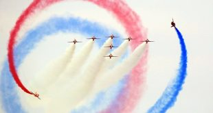 نمایش هوایی ساندرلند در سواحل انگلیس  /تصاویر