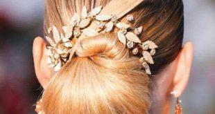 مدل های شنیون مو، مخصوص عروس خانم ها