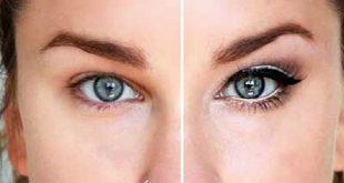 چگونه با آرایش چشم های ریز را درشت تر نشان دهیم؟