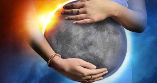 ماه گرفتگی و رابطه آن با بارداری