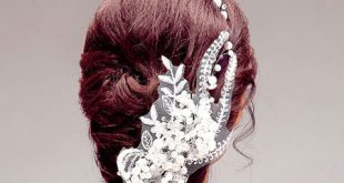 مدل گل سرهای مناسب شینیون