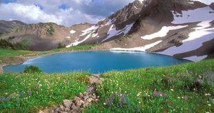 آشنایی با  دریاچه و تنگه کوه گل یکی از زیباترین جاذبههای طبیعی