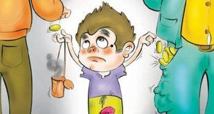 کاریکاتور به مناسبت روز جهانی مبارزه با کودکان کار