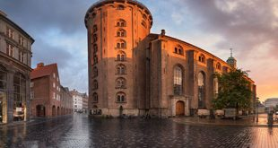 برج مدور کپنهاگ یکی از مکانهای دیدنی دانمارک