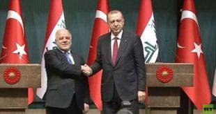 اردوغان با العبادی دیدار کرد