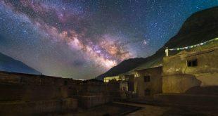 زیبایی آسمان شب در تبت (+تصاویر)