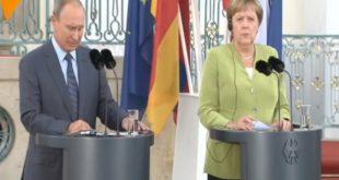 پوتین: حفظ برجام مهم است/ مرکل: نگران برنامه موشکی ایران هستیم