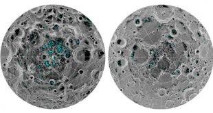 یخ در ماه!