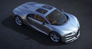 سوپر خودرو بوگاتی شیرون با سقف اسکای ویو معرفی شد (+تصاویر)