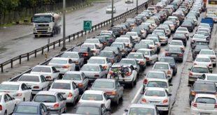 آخرین وضعیت جادههای کشور /ترافیک نیمه سنگین در هراز