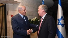 نتانیاهو: بولتون دوست واقعی اسرائیل است