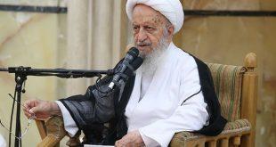 مکارم شیرازی :  ناراحتی بنده از بعضی مسائل مطرح شده در مراسم تجمع طلاب در مدرسه فیضیه است