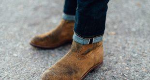 روش تمیز کردن کفش های جیر