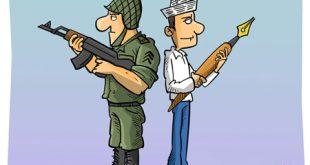 کاریکاتور روز خبرنگار