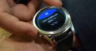 میانبر کلید اصلی ساعت Gear S3