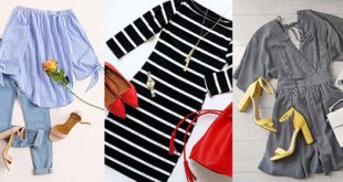 راهنمای خرید لباس بارداری راه راه