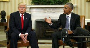 ترامپ: ورود اوباما به تبلیغات انتخاباتی خبر خوبی است
