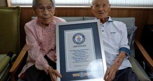 پیرترین زن و شوهر دنیا که رکورددار گینس هستند