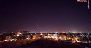 حمله موشکی اسرائیل به فرودگاه دمشق (+تصاویر)