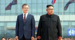 دیدار سران دو کره در پیونگ یانگ (+تصاویر)