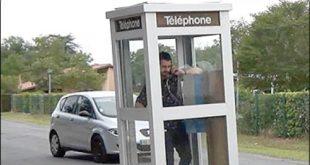 طراحی تلفن متحرک توسط هنرمند فرانسوی