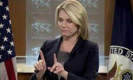 سخنگوی وزارت خارجه آمریکا: تغییر نظام ایران سیاست ما نیست