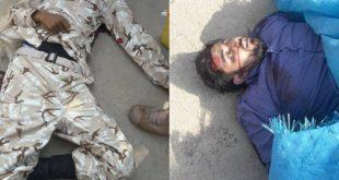 اولین تصویر از هلاکت ۲ عضو گروه تروریستی الاحواز
