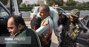 تشییع شهدای حادثه تروریستی اهواز با حضور نمایندگان رهبری