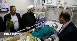 مجروحان حادثهی تروریستی حمله به رژه نیروهای مسلح در اهواز