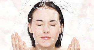 بهترین روش شستن صورت
