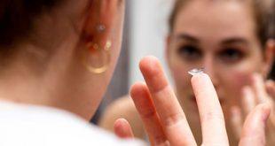 آرایش چشم وقتی که لنز داریم چگونه است؟