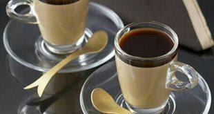 طرز تهیه دسرخامه قهوه