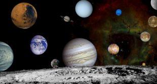علت کروی بودن سیارات چیست؟