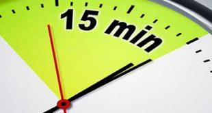 ۱۵ دقیقهای که زندگی شما را تضمین میکند