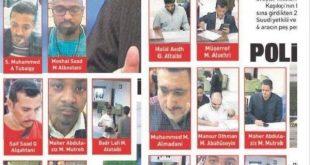 انتشار تصاویر و اسامی مظنونان سعودی مرتبط با پرونده خاشقجی