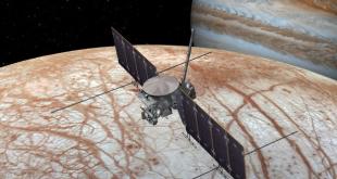 امکان وجود یخهای 15 متری بر سطح قمر مشتری